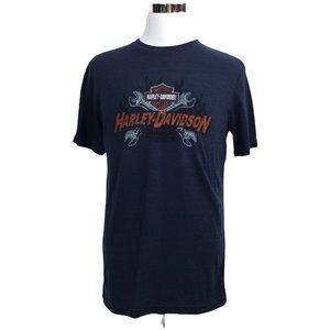 Harley Davidson Blue Gator Leesburg Florida Tee